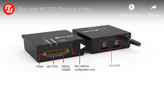 Robustel M1200 modemo pristatymas