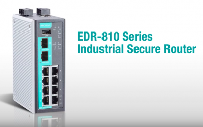 EDR 810: All-in-one industrial secure router