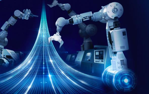 Duomenų perdavimo įrangos apjungimas išmaniojoje gamyboje